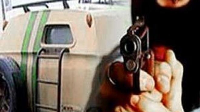 Вооружённое нападение на инкассаторов, есть раненный
