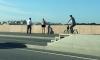 Голый извращенец бегал по Литейному мосту от полиции и махал трусами