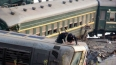 В Америке столкнулись грузовой и пассажирский поезда: ...