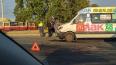 Lada Granta перевернулась после столкновения с маршруткой ...