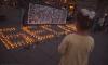 На Малой Садовой активисты зажгли 334 свечи в память о погибших в Беслане