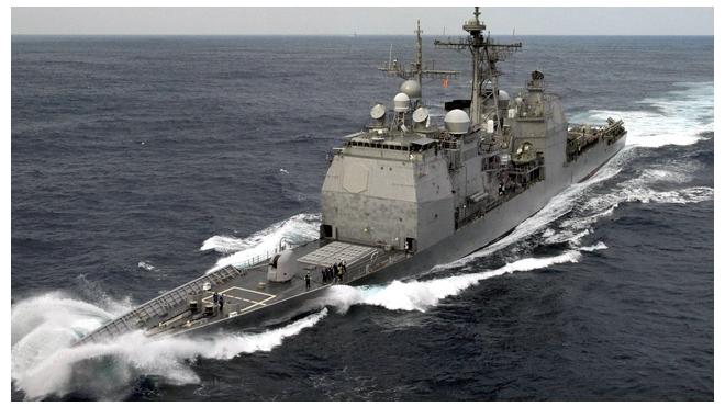 Ракетный катер РФ отбил атаку турецкого судна на российских нефтянников