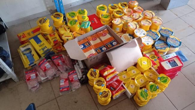 """На рынке в Красносельском районе изъяли более 200 кг """"санкционки"""""""