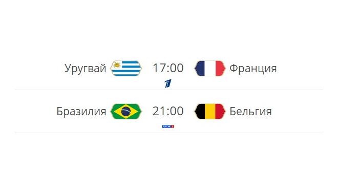 Сегодня в России состоятся первые четвертьфиналы ЧМ-2018