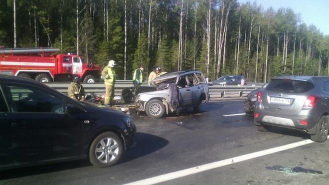 Смертельное ДТП произошло утром на Новоприозерском шоссе, двое погибших