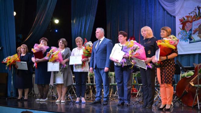 В Выборге прошло торжественное мероприятие, посвящённое Дню учителя
