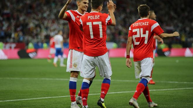 Сборная России проиграла три матча подряд