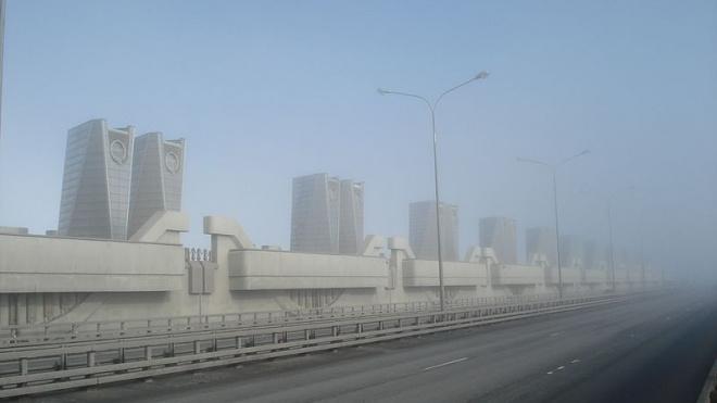 В Петербурге закрыли дамбу, опасаясь наводнения