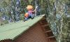 В Высоцке теперь есть Карлсон, который живет на крыше
