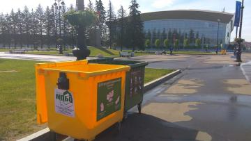 Во время матчей ЧМ по футболу в Петербурге обеспечат раздельный сбор мусора