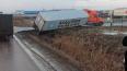 Утром фура перекрыла Московское шоссе