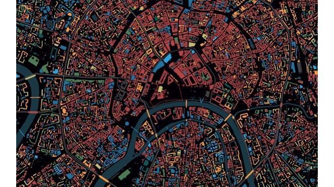 Петербуржец создал интерактивную карту, на которой можно узнать возраст здания