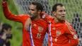 Россия выигрывает у Азербайджана после первого тайма