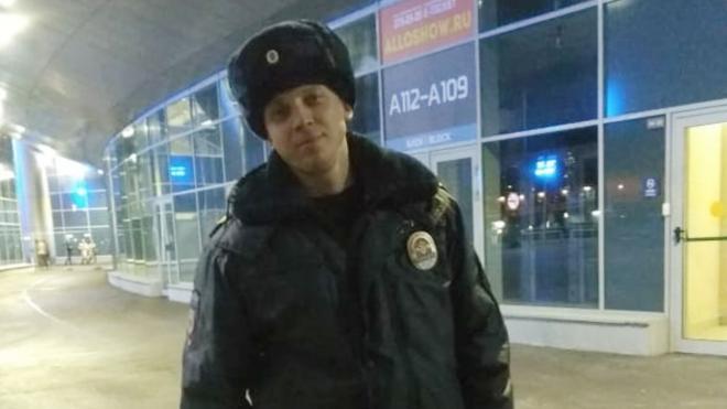 Петербургский полицейский получил награду за спасенного из Фонтанки человека