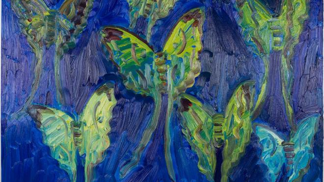 Выставка произведений Ханта Слонема