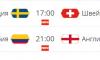 Сегодня состоятся два заключительных матча 1/8 финала