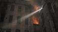 Крупный пожар в коммуналке на Греческом проспекте: ...
