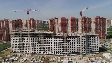 В Петербурге за 2021 год построили 840 тысяч квадратных метров жилья