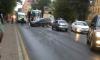 На Растанной улице автомобиль врезался в трамвай