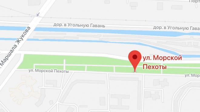В Петербурге открыли памятник морским пехотинцам