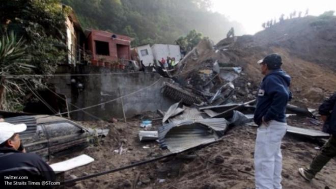 Фото чудовищного оползня в Гватемале шокировали Интернет