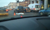Land Rover переехал лежащего на Лиговском проспекте мужчину
