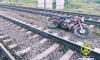 В Лужском районе Ленобласти электричка сбила 16-летнего мотоциклиста