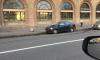 На Кронверкской улице дорожный знак разбил иномарку