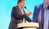 Саакашвили опозорился и заправил штанину в носок перед телекамерами