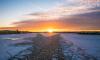 В Северную столицу пришел атмосферный фронт с Балтики и подарил сильный ветер