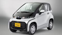 Toyota выпустила городской электромобиль C + pod