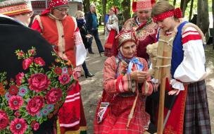 В Выборге прошел фестиваль финно-угорских и самодийских народов