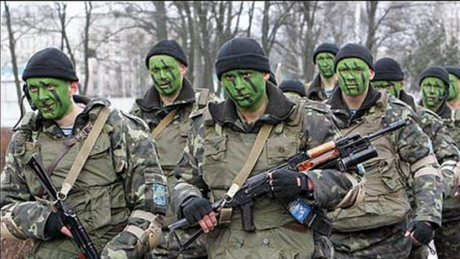 Украина провела масштабные военные учения на границе с Крымом