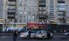Авария на Маршала Говорова собрала пробку из трамваев