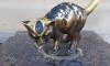 В Петербурге вандалы измазали котенка Фунтика краской