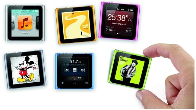 Новую версию iPod nano оснастят камерой