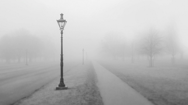 МЧС: в четверг на Петербург опустится густой туман и дождь
