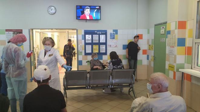 В Петербурге начнут вакцинировать при выписке из больницы