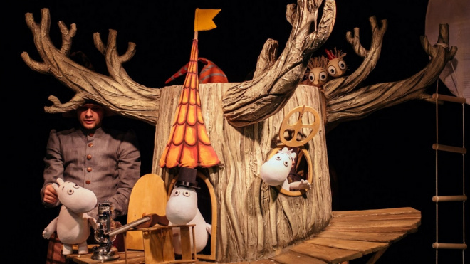 """Кукольный спектакль """"Муми-тролль и шляпа волшебника"""""""