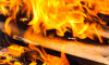 В Выборгском районе у мужчины загорелась кровать