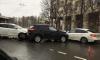 Три автомобиля столкнулись на повороте с улицы Зины Портновой