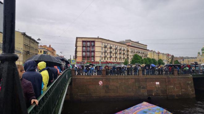 "Начало чемпионского парада ""Зенита"" задержалось на 15 минут"