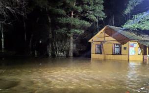 В Курортном районе река Сестра вышла из берегов