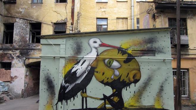 В Петербурге появился новый арт в защиту природы