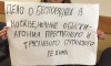 На Малой Садовой задержали активистку, устроившую одиночный пикет