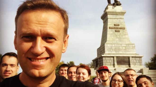 Навальный пригрозил петербургским властям несанкционированной акцией