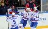 Хоккейный матч СКА - ЦСКА закончился со счетом 6:2