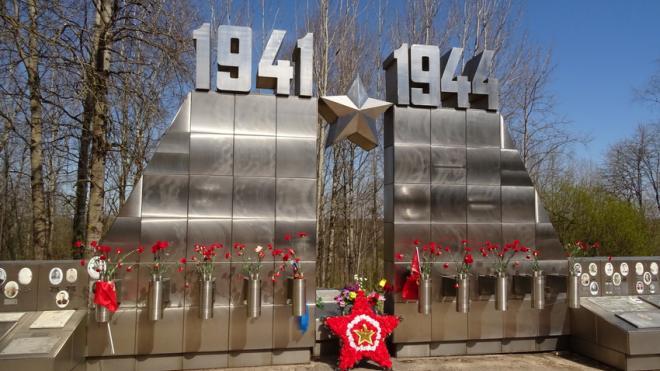 На Синявинских высотах перезахоронили героев Великой Отечественной войны