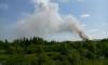 В Кингисеппском районе горит 1000 квадратных метров мусора