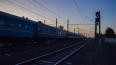 Электрички приходят на Московский вокзал с часовым ...